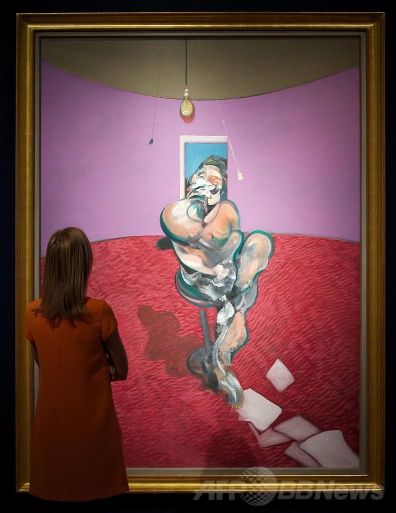 F・ベーコンが恋人描いた油絵、約72億円で落札