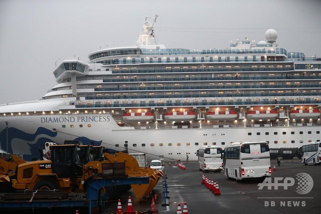 英政府、隔離中のクルーズ船から自国民退避させると発表 航空機準備