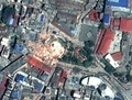 ネパール地震、ダラハラ塔の衛星写真 国連研究所が公開