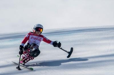 村岡がスーパー大回転で銅、今大会2個目のメダル 平昌パラ