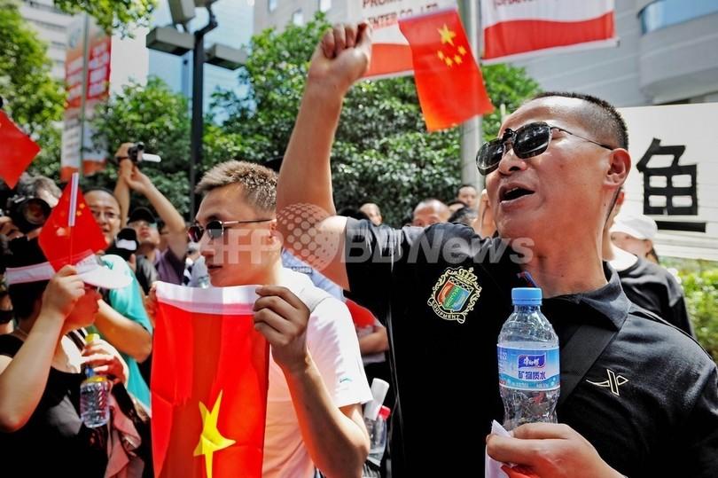 船長逮捕に中国各地で抗議デモ、...
