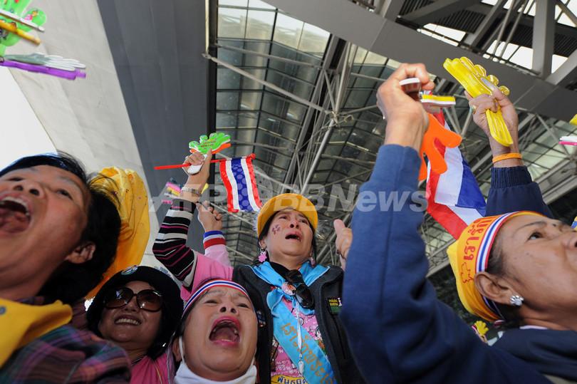 タイ憲法裁、最大与党に解党命令 ソムチャイ首相は政治活動を5年間禁止
