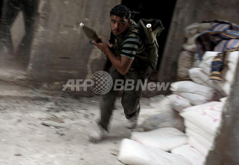英独の情報機関がシリア反体制派を支援、英独紙が報じる