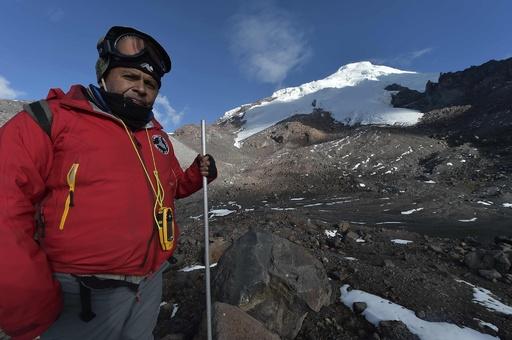 アンデス山脈の氷河融解、気候変動で危機的状況に