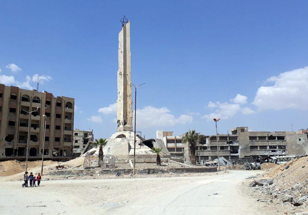 東グータから反体制派完全撤退 シリア政府軍が「浄化」宣言