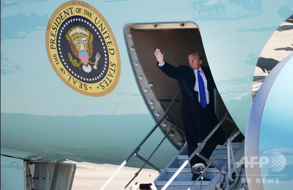 トランプ氏、ベトナムへ出発 米朝首脳会談へ
