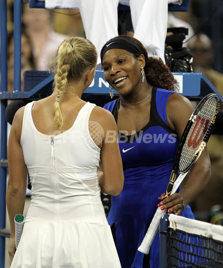セレーナとストーサーが決勝へ、全米オープン