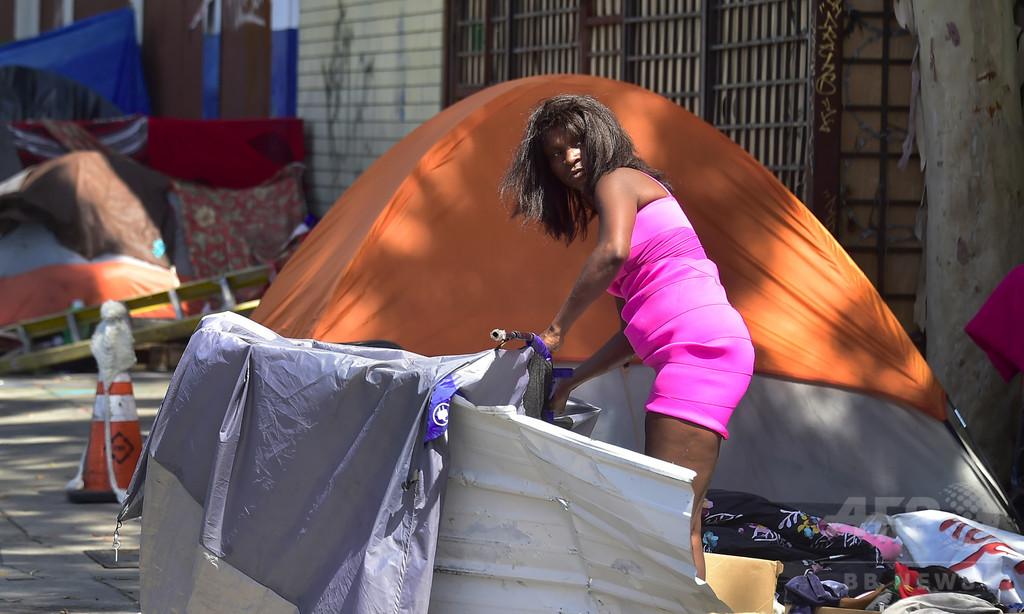13~25歳の若年層ホームレス、全米に420万人以上