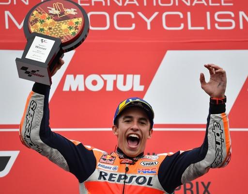 王者マルケスが日本GP制覇、ポールトゥウィンで今季10勝目