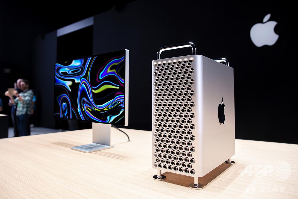 米アップル、Mac Proの生産拠点を中国に移転 WSJ報道