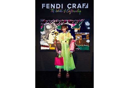 「フェンディ クラフ」展、オープニングイベントに山田優ら