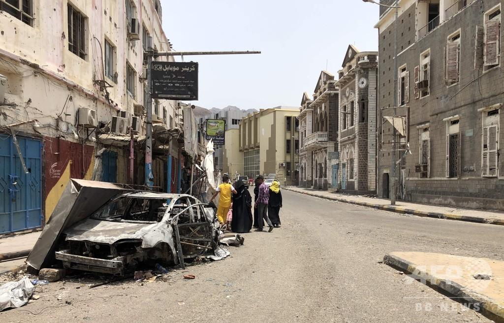 「内戦の中の内戦」にひんするイエメン、南部独立派 サウジ仲介の和平交渉に前向き
