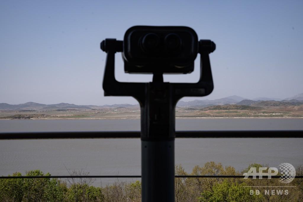 北朝鮮、非武装地帯の韓国側歩哨所に数発の銃撃