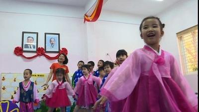 動画:ベトナムの北朝鮮幼稚園、米朝首脳会談を前に金氏を迎える準備