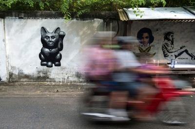 「タイのバンクシー」は軍事政権の「頭痛」の種