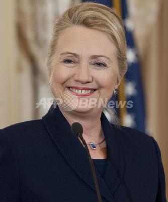 クリントン米国務長官は入院していた、血栓みつかる