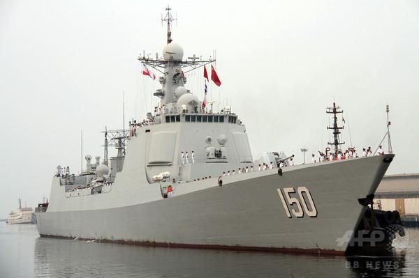 アラスカ沖に中国軍艦5隻を確認、米国防総省