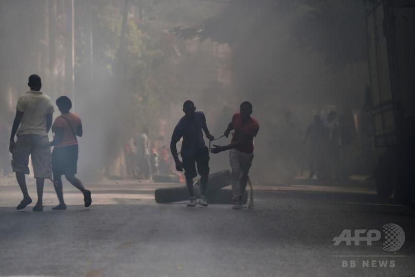 ハイチで燃料高騰の抗議デモが激化、政府は価格引き上げを中止
