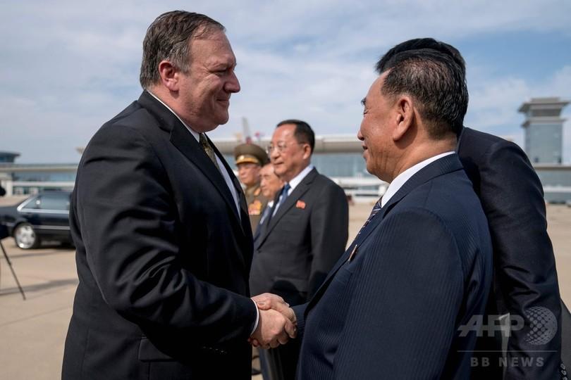 ポンペオ米国務長官、北朝鮮との協議は「非常に実りある」ものと総括