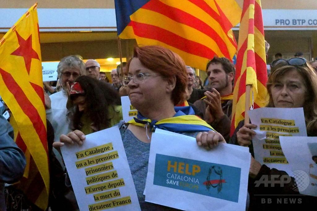 フランスのカタルーニャ独立派、「亡命政府」の受け入れを提案