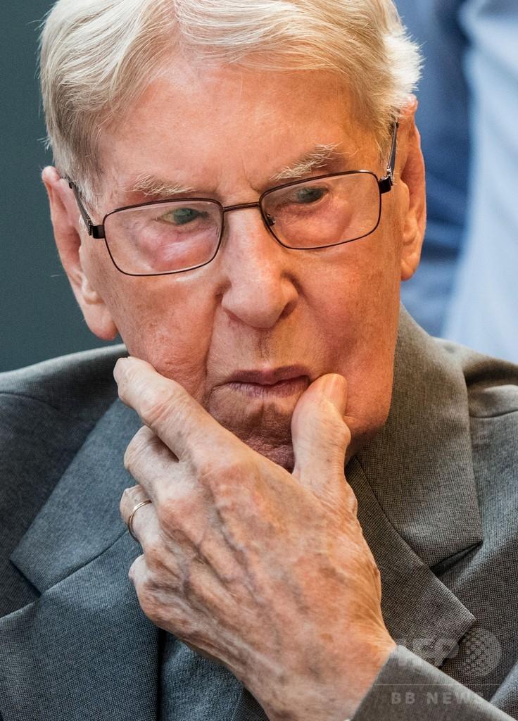 94歳元ナチス親衛隊員に禁錮5年、「17万人殺害」に関与