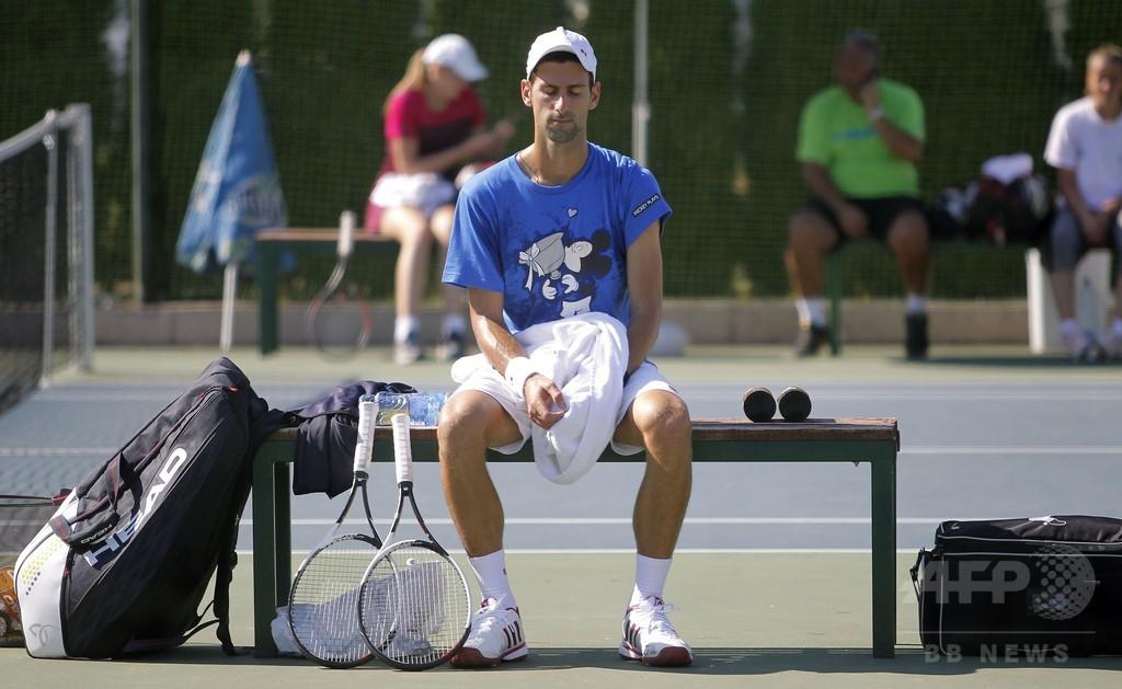 実戦から遠ざかるジョコビッチ、「テニスの楽しみを再発見したい」