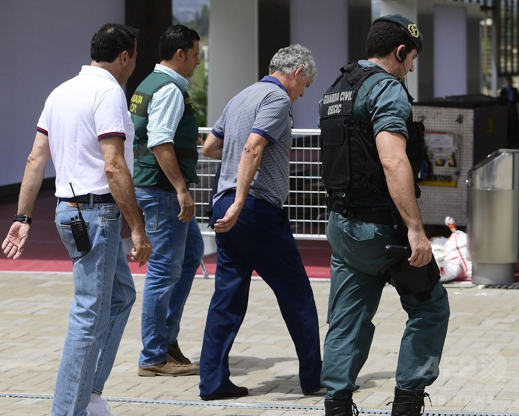 スペインサッカー連盟会長らを逮捕、汚職などの疑い