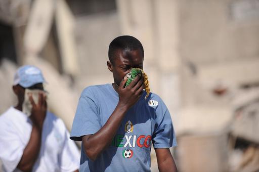 下痢やはしかが流行、予防接種実施へ ハイチ
