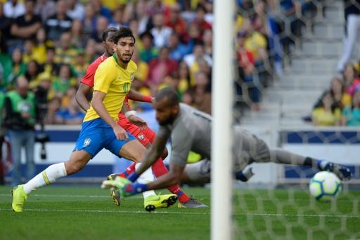 ブラジル、パナマとの親善試合でドロー