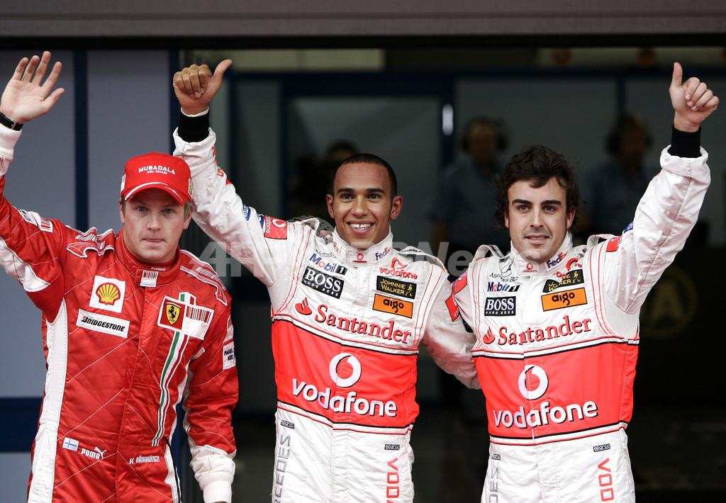 ハミルトン シーズン4度目のポールポジションを獲得
