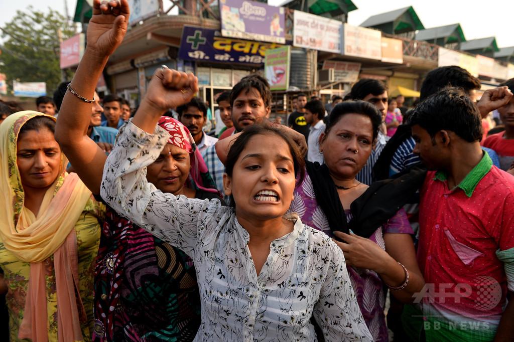 レイプ被害少女、入院先でさらに性的暴行被害か インド