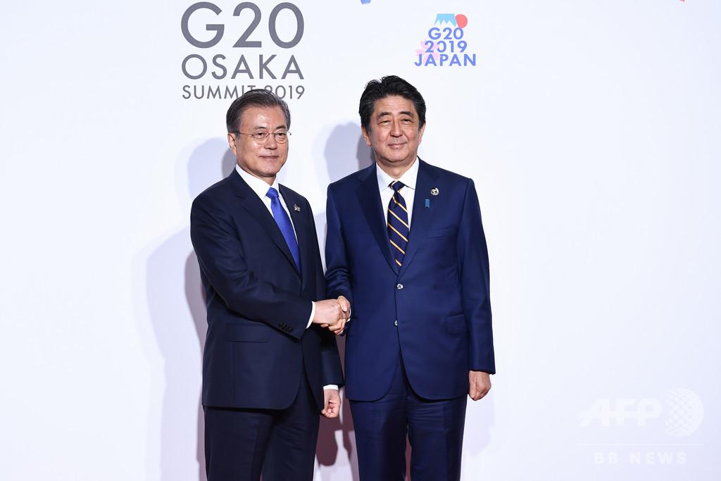 韓国企業の会長が辞任、安倍氏を称賛し文氏を批判する動画めぐり