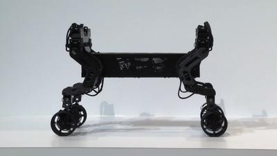 動画:韓国・現代が脚付き車輪装備のコンセプトカー公開、米家電見本市CES