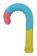 傘の持ち手にデザインを、「Danke」のアンブレラグリッパー