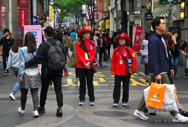 韓国で中国人観光客40%減、THAAD配備への対抗措置で
