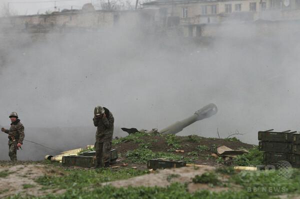 ナゴルノカラバフの衝突続く、死者46人に 事態の深刻化に懸念も