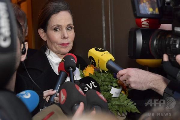 ノーベル文学賞選考機関トップと会員1人が辞任、性的暴行疑惑めぐり