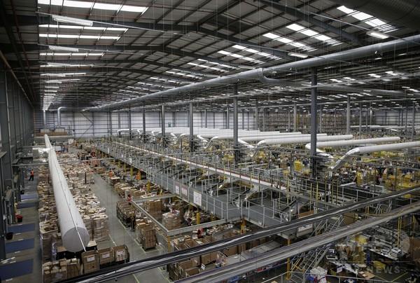 物流のグローバル企業目指すアマゾン