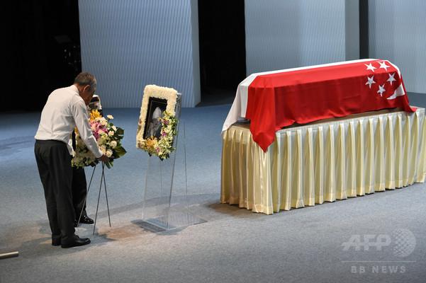 シンガポール建国の父、リー・クアンユー元首相の国葬