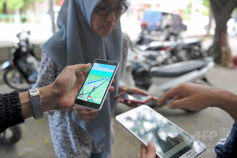 勤務中の「ポケモンGO」禁止 警察と軍に インドネシア