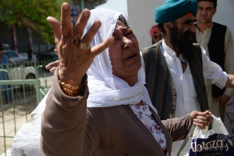 アフガン、民間人死者が過去最多に 今年1~6月 ISやタリバンの襲撃やまず