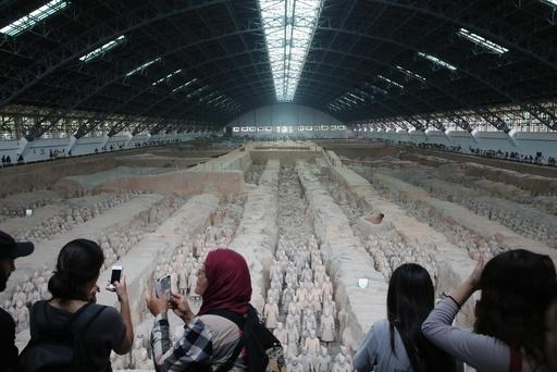 医療関係者に無料開放、秦の始皇帝陵博物院など西安の景勝地