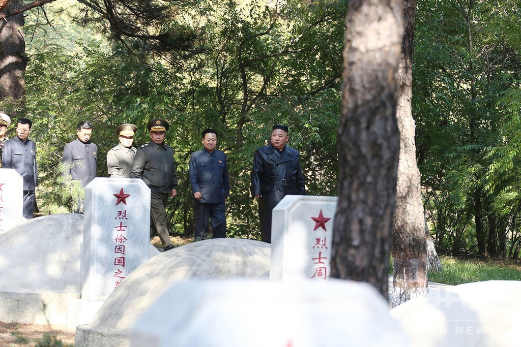 中国の朝鮮戦争参戦から70年 金正恩氏、戦没者らを追悼