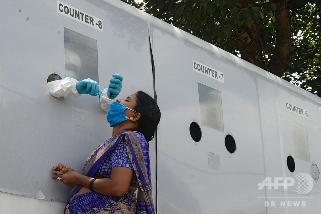 インド、1日当たりの新規感染者数で世界最多更新 世界の感染者数は2500万人超に