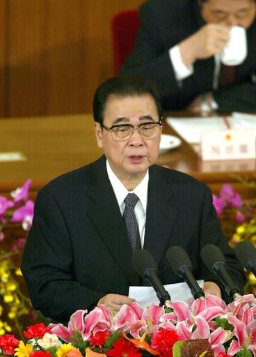 中国の李鵬元首相が死去、90歳