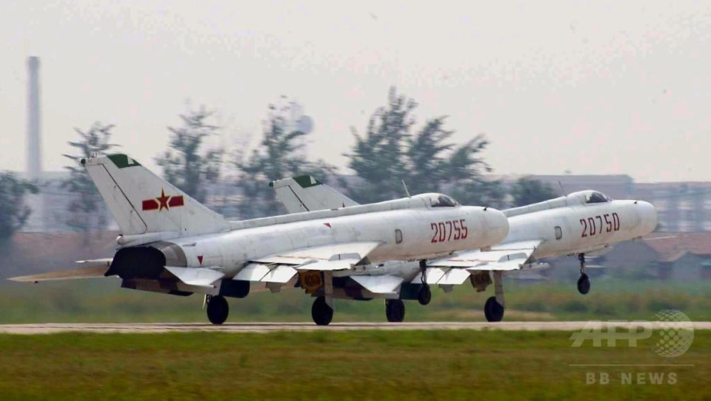 不審機で戦闘機が緊急発進、正体は測量用無人機 中国 写真1枚 国際 ...