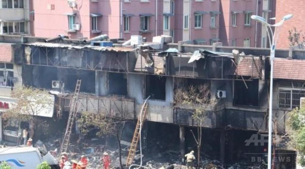 中国・杭州の飲食店でガス爆発、2人死亡 55人負傷