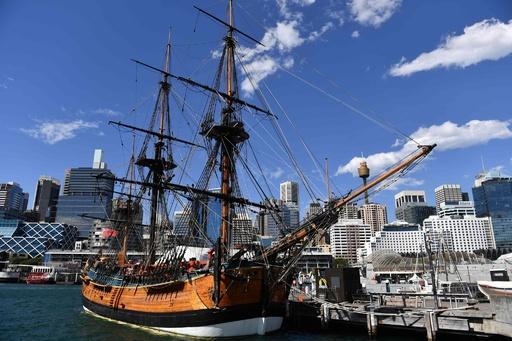英探検家クック船長の「エンデバー号」 残骸ついに特定か、米豪チーム