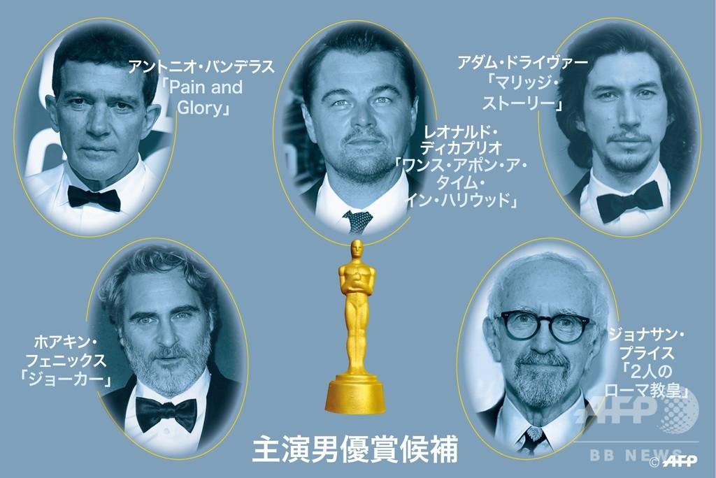 【特集】大物クラスが勢ぞろい、第92回アカデミー賞主演男優賞ノミネート