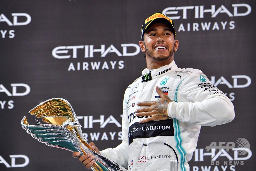 王者ハミルトンが最終戦で完勝、ポールトゥウィンで今季11勝目